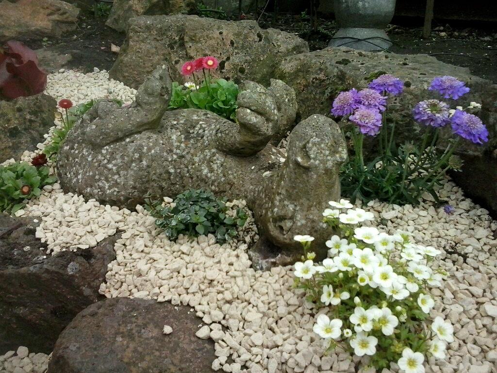 Pat elliott making a rockery in my scottish garden for Garden design ideas scotland