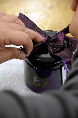 Lavender Sugar Scrub handcrafted at Pelindaba Lavender Farm