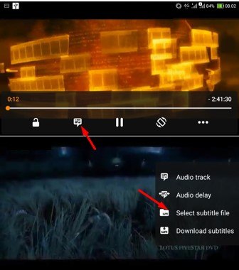 Cara Mengatur Subtitle di VLC Android