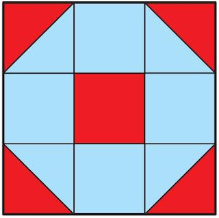OBMEP 2019 o quadrado abaixo está dividido em nove quadradinhos iguais