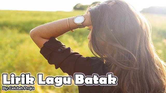 Lirik Lagu Batak Adong Huida Sada Bunga  Sai Huranapi Humaliang