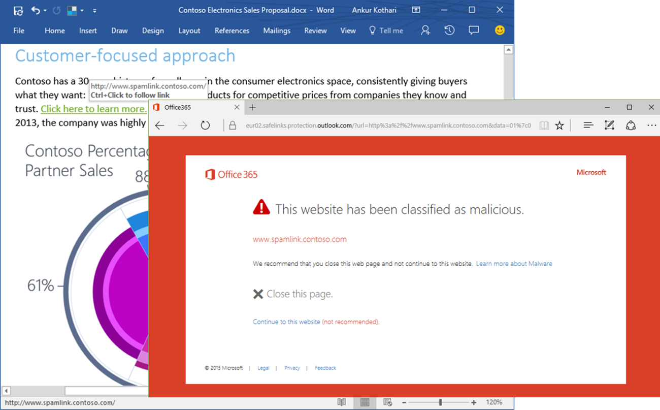 Office 365 security and compliance exchange online protection 02 - New Atp Features Coming Https Blogs Office Com 2016 09 26 Applying Intelligence To Security And Compliance In Office 365