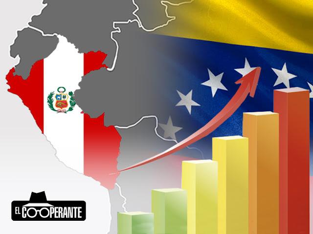 La emigración venezolana hizo aumentar el PIB y la recolección de impuestos en Perú