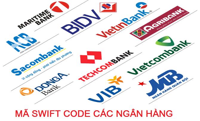 Danh Sách mã Swift Code của các Ngân Hàng 2015