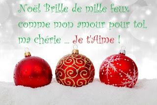 Noël brille de mille feux comme mon amour pour toi, ma chérie.