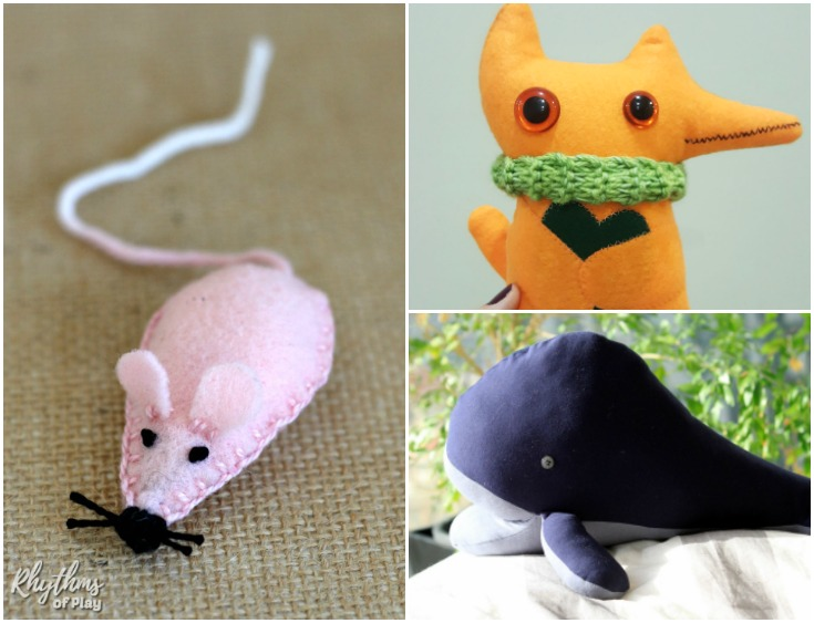 20+ Free and NEW Softie Sewing Tutorials - AppleGreen Cottage
