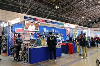 東京オートサロン 2019 ファクトリーギアブース