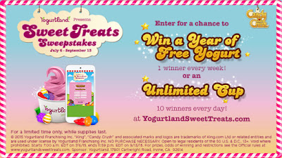 Candy Crush-Inspired Flavors Coming to  Yogurtland