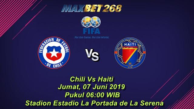 Prediksi Chili Vs Haiti, Jumat 07 Juni 2019 Pukul 06.00 WIB