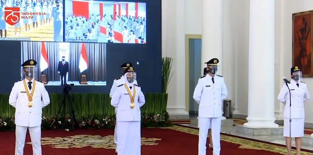 Presiden : Pamong Praja Muda adalah Masa Depan Pemerintahan dan Penentu Reformasi Instansi