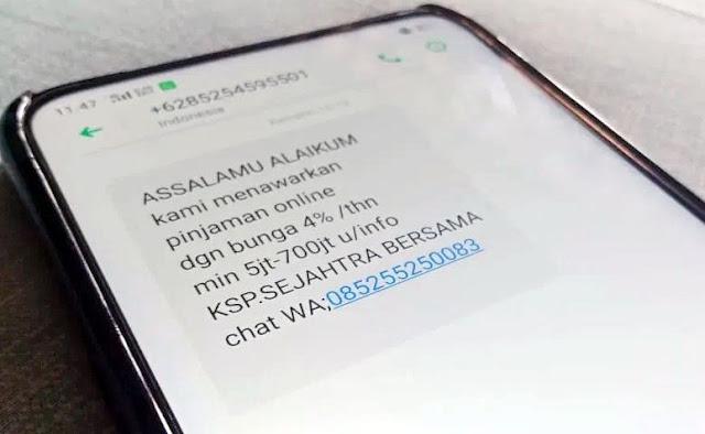 Begini Cara Melaporkan SMS Spam ke BRTI