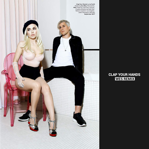 Le Youth - Clap Your Hands (feat. Ava Max) [WE5 Remix] - Single Cover