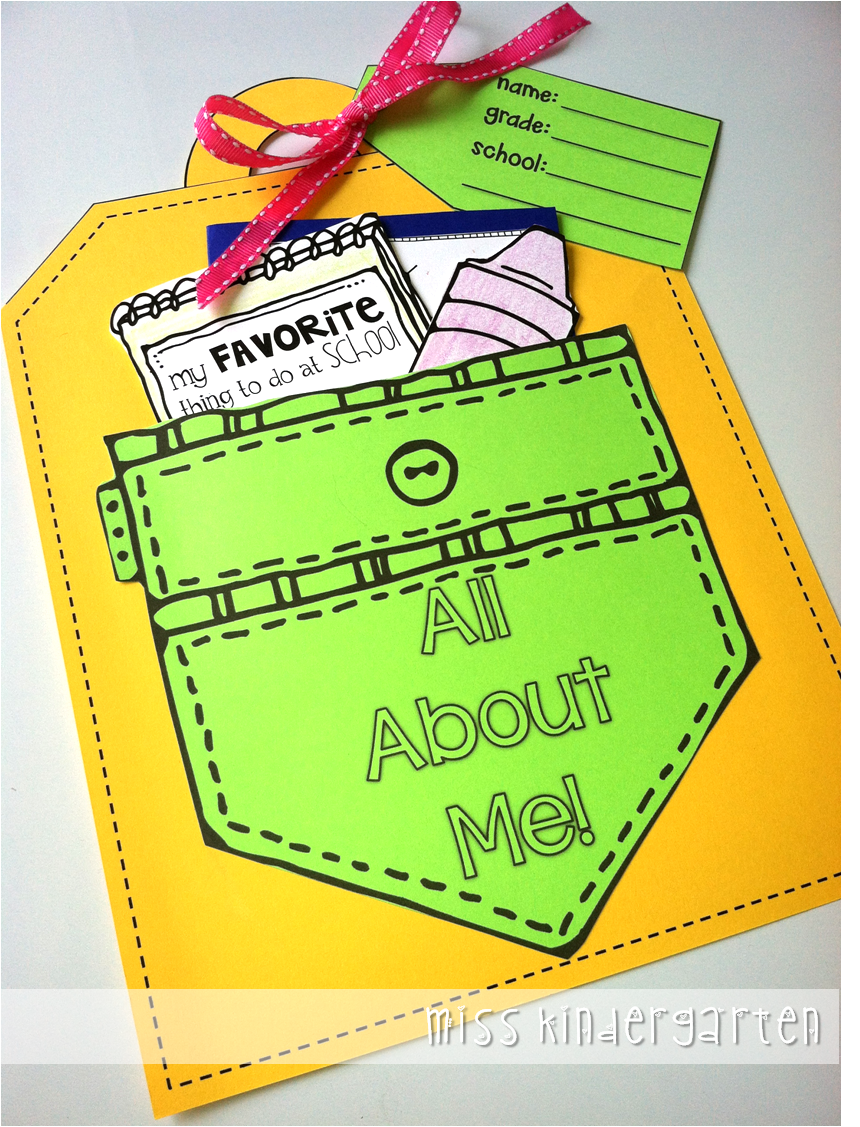 all about me craft ideas all about me craft amp a giveaway miss kindergarten 5835