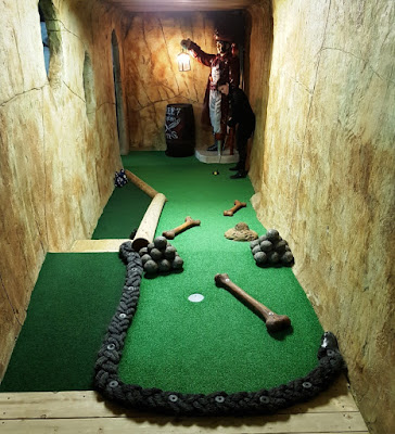 Pirate Cove Adventure Golf at the New York Thunderbowl in Kettering