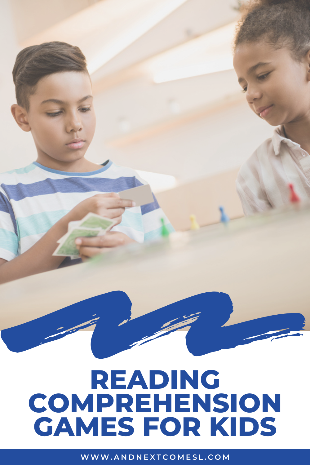 Reading comprehension games for kids - includes lots of free printables to help you improve comprehension skills!