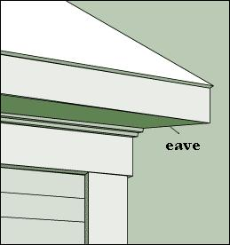 Daati (दांती) : eaves