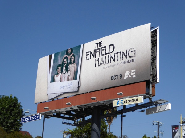 Enfield Haunting TV miniseries billboard