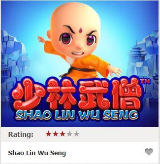 Kích hoạt tối đa 88 lượt chơi miễn phí cùng Shao Lin Wu Seng