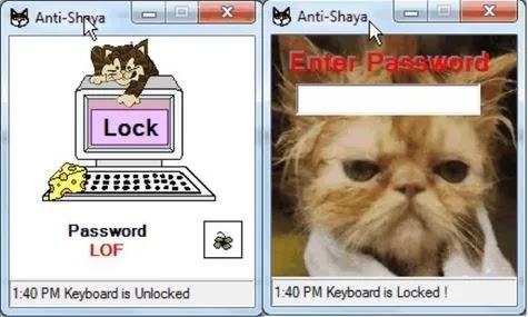 تعطيل لوحة المفاتيح antishaya
