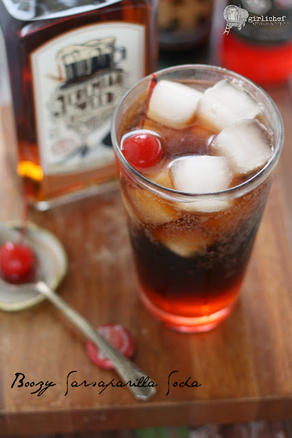 Boozy Sarsaparilla Soda