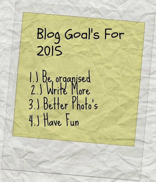 blog goals for 2015
