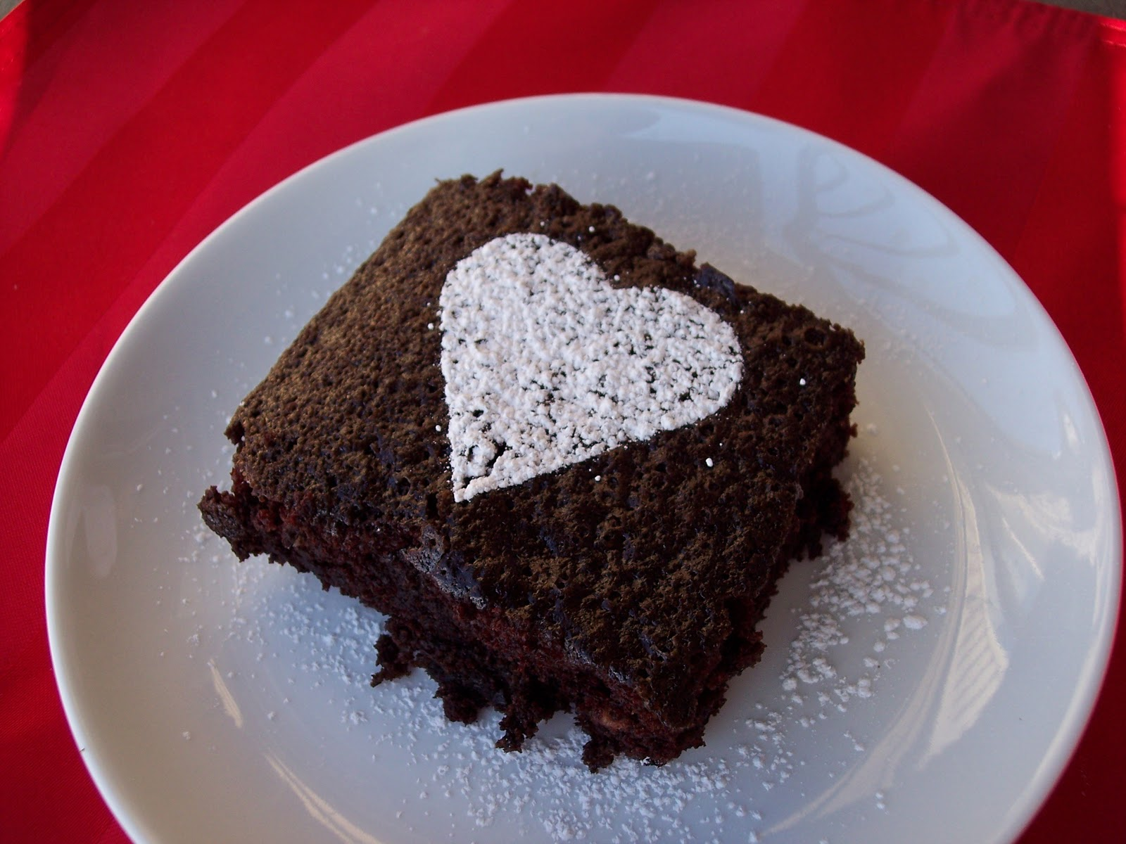 Cake In A Mug Recipes No Egg: In The Kitchen With Honeyville: No-Egg Chocolate Cake Recipe