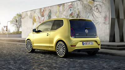 Volkswagen Up! back view Hd Pictures