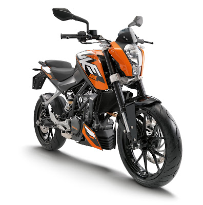 New 2016 KTM Duke 125 front side image