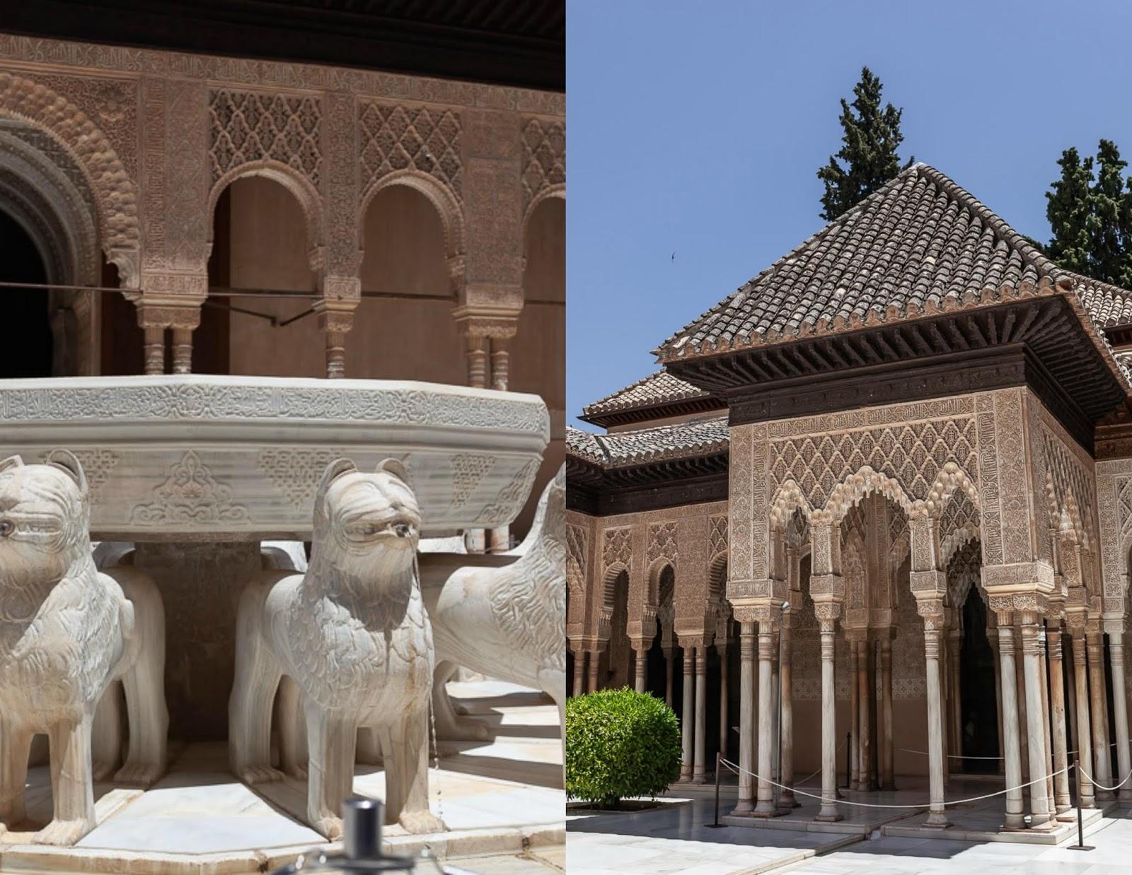Patio de los Leones in Alhambra