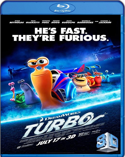 Turbo [2013] [BD50] [3D] [Latino]