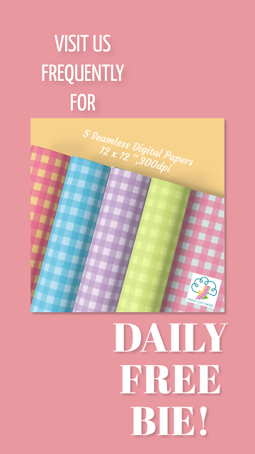 Daily Freebie Day 34 Pin