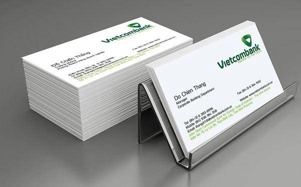 Thông tin in card visit cơ bản