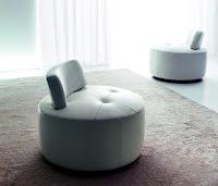 Modern puf koltuk