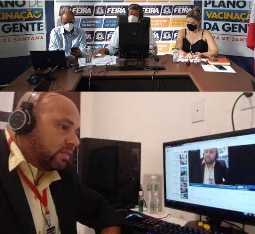 FEIRA: Prefeito Colbert Martins, apresentou ao PIRÔPO NEWS, logística eficiente de vacinação