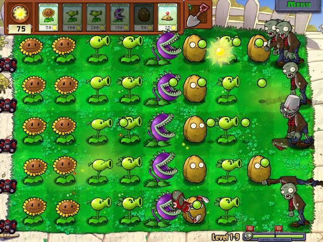 Game plant vs. Zombie