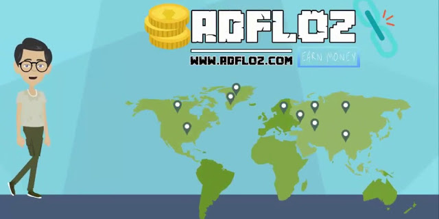 فرصة للعمل مع adfloz وكسب المال منها