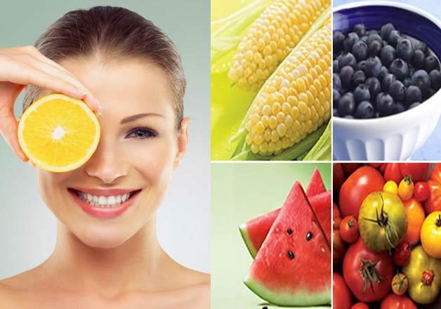 Summer season fruits