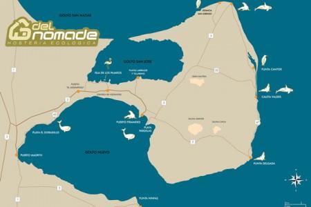 valdes peinsula map