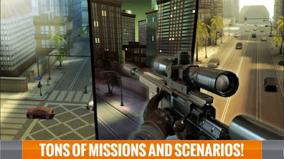 Sniper 3D Assassin Mod APK + Data v1.9.1-screenshot-1