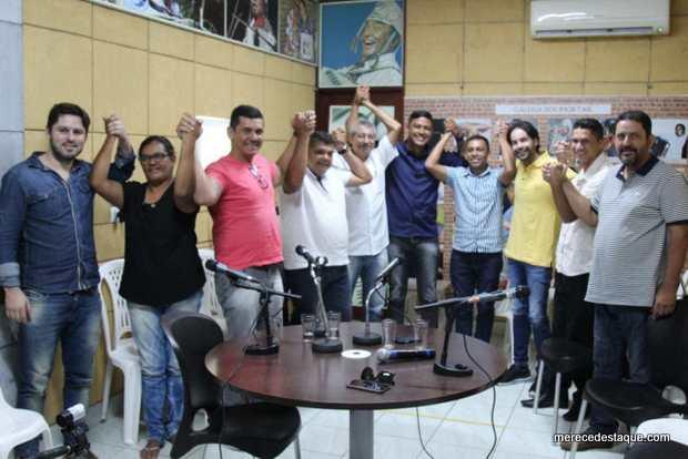 Vereador Joab do Oscarzão anuncia aliança política com o deputado Diogo Moraes