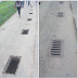 Man shares photos of open holes left by vandals in Uyo... watch out for these holes if you are visiting or live there