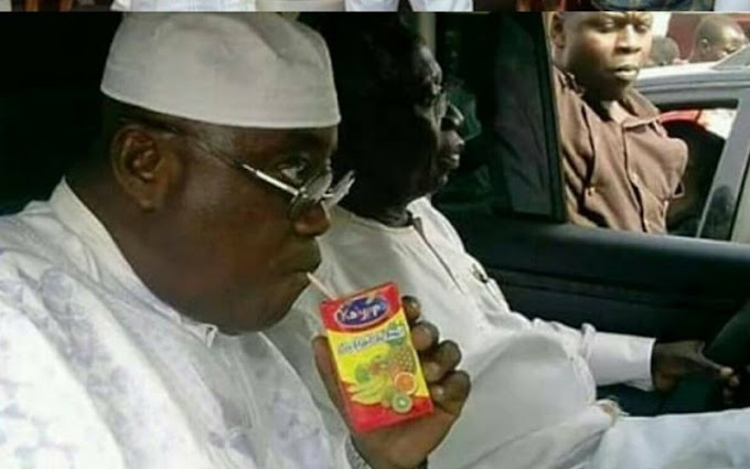 Photo Of Nana Addo Sipping Drink Has Sparked The Latest Social Media Fad