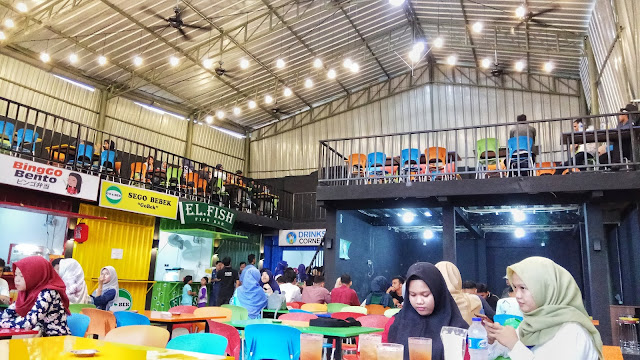 Review Foodcourt Coconut Trees Cilegon