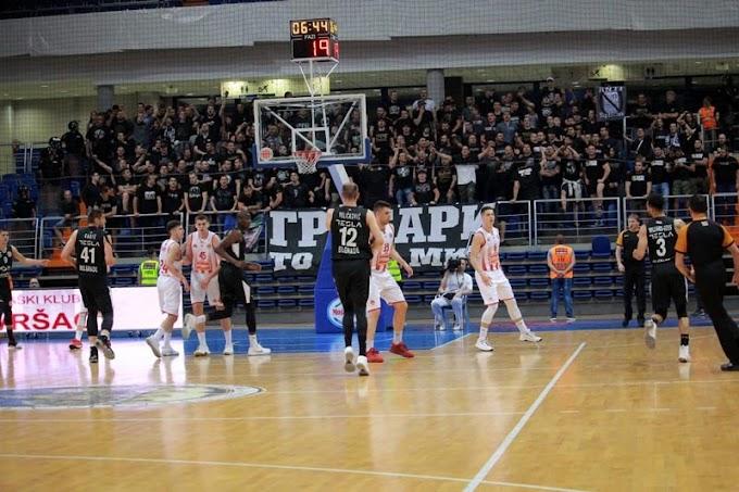 "Partizan sa ""pola gasa"" deklasirao Vršac! (VIDEO)"