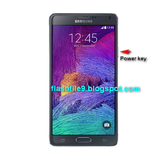if your forget your Samsung Galaxy Note 4 Pattern lock and gmail lock how do you solve this problem i will show you on this post how do you can solve this problem easily. For Hard Reset Battery Charge Need 70% Up.After Hard Reset All Data Will Be lost So you should backup your all data.  1. Press And Hold Power Key To Turn Off Your Device.