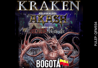 Concierto KRAKEN y AKASH en Bogotá 2019