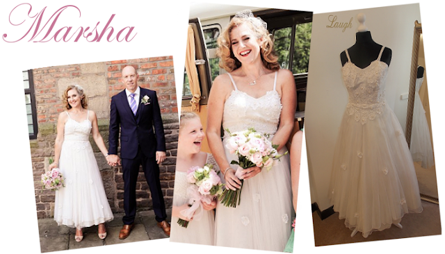 Tea length wedding dress manchester from vintage lane bridal