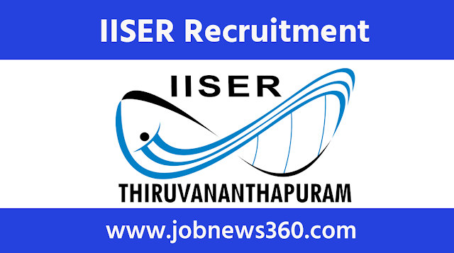 IISER Thiruvananthapuram Recruitment 2020 for Junior Research Fellow