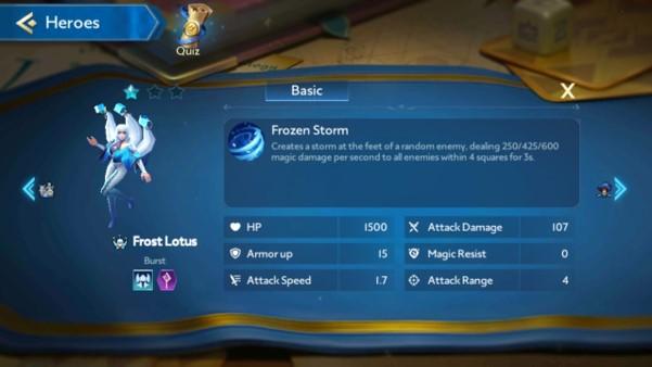 Hero Frozen Lotus