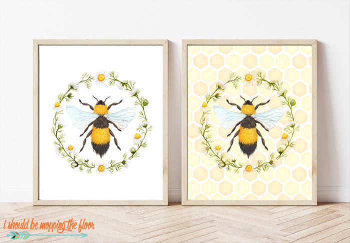 Bee Printables